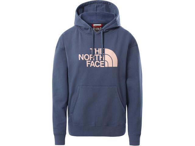 The North Face Light Drew Peak Hættetrøje Damer, blå/pink